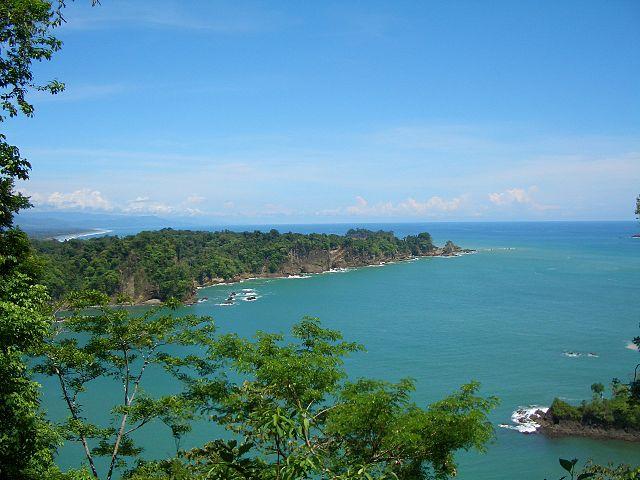 Acantilados en Costa Rica