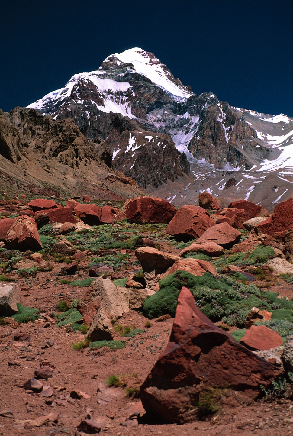 Aconcagua from base