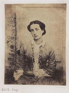 Adèle Hugo 2nd daughter of Victor Hugo