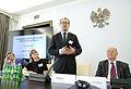 Adam Bodnar Konferencja Demokracja a Prawa Człowieka. Rola parlamentów narodowych we wdrażaniu standardów Europejskiej Konwencji Praw Człowieka Senat 2015.JPG