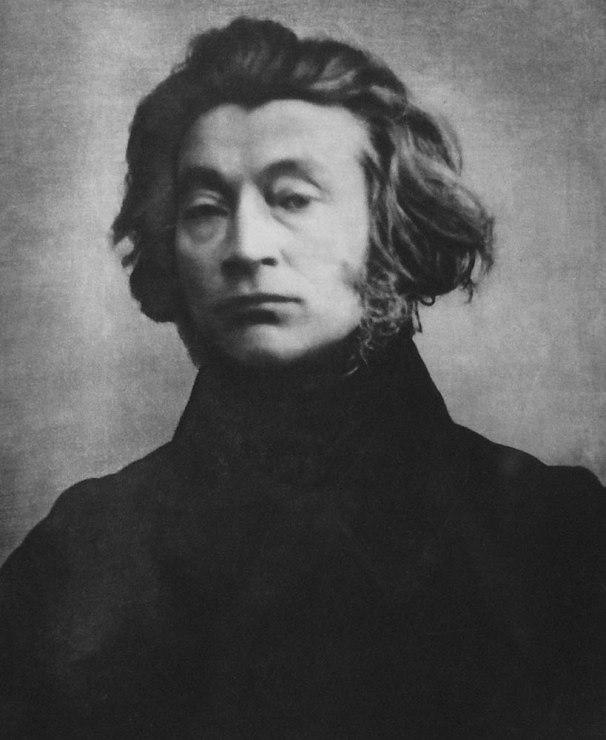 Adam Mickiewicz według dagerotypu paryskiego z 1842 roku