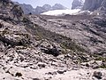 Adamekhütte und Großer Gosaugletscher HR 08 2006.jpg