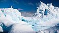 Adelie penguin on an iceberg near the Antarctic Peninsula.jpg