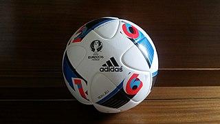Adidas Beau Jeu official match balls of the UEFA Euro 2016