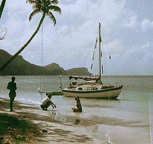 Bequia - Admiralty Bay Bequia in 1966
