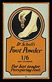 Advert for Dr Scholl's Foot Powder Wellcome L0040545.jpg