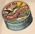 Advertising - Horehound candy box by Rethy Bela Bekescsaba - Hungary 1907.jpg