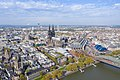 Aerial view of the city center of Cologne, Germany (48987009021).jpg
