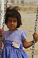 Afghan police conduct kite-making activity with Afghan children 110717-A-DM450-042.jpg