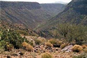 Agua Fria River - Agua Fria Canyon, near Richinbar Mine, Agua Fria National Monument