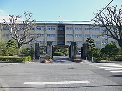 Aichi prefectural Ishin high school 01.JPG
