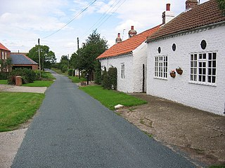 Aike Village in the East Riding of Yorkshire, England