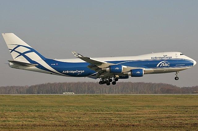AirBridgeCargo Boeing 747-400F