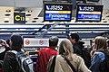 Air Koryo check in counter Terminal 2 BCIA at Beijing (16758663445).jpg