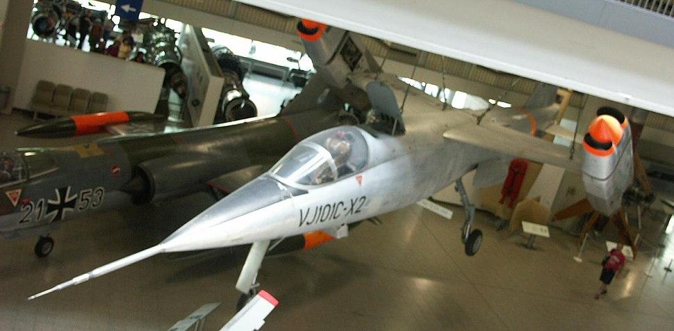 Aircraft VJ101C top