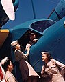 Airmen and women with Grumman G-21 Goose, Puerto Rico (8364087721) (cropped).jpg