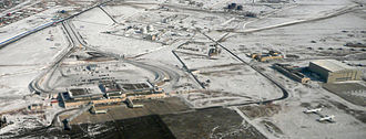 Chinggis Khaan International Airport - Aerial view of Chinggis Khaan International Airport