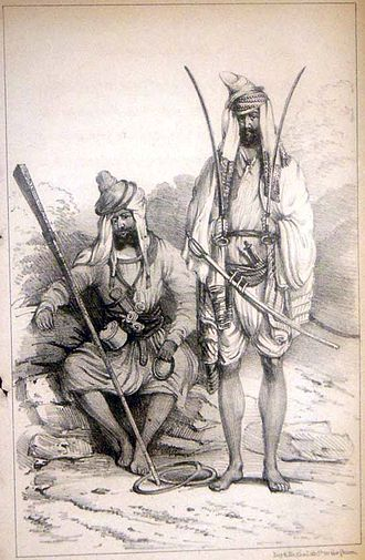Sikh Light Infantry - Akalis.
