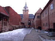 Akershus festning, courtyard