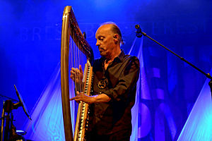 World music - Alan Stivell in concert at Brest (Brittany), 2013