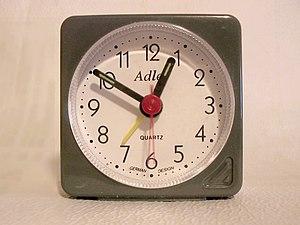 a modern alarm clock