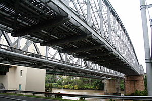 Albert Bridge, Brisbane - Image: Albert Bridge Brisbane