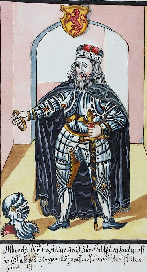 אלברכט הרביעי, רוזן הבסבורג