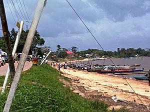 Albina, Suriname - Albina in 2008