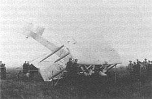 Vickers Vimy - Alcock and Brown's crashed Vimy at Clifden, Ireland on 15 June 1919