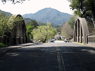 National Register of Historic Places listings in Marin County, California - Image: Alexander Acacia Bridge Alexander Ave & Acacia Ave Larkspur CA 3 21 2010 1 20 18 PM