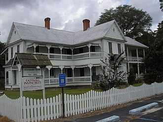 Tattnall County, Georgia - Image: Alexander Hotel Side