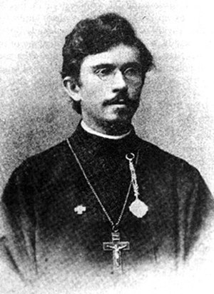 Alexander Hotovitzky - Photograph taken before 1909.