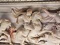 Alexander statuette on Alexander Sarcophagus 2020.jpg