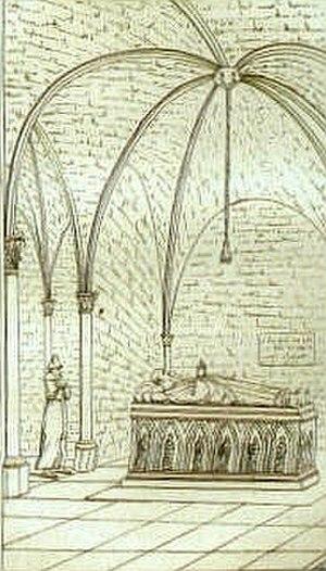 Alexandre Lenoir - Image: Alexandre Lenoir Vue du tombeau d'Abélard à Saint Marcel