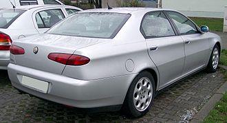 Alfa Romeo 166 - Alfa Romeo 166, prior to facelift