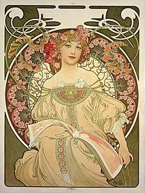 MUCHA Alphonse Reverie 1897