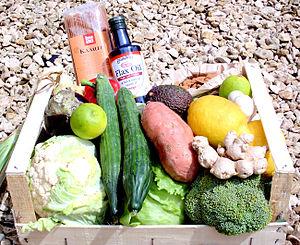 Vegetable box scheme - A vegetable box