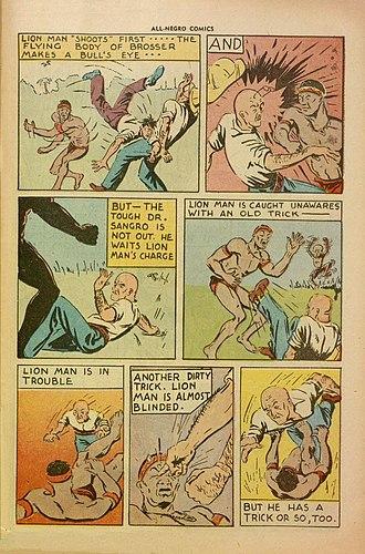 All-Negro Comics - Image: All Negro Comics page