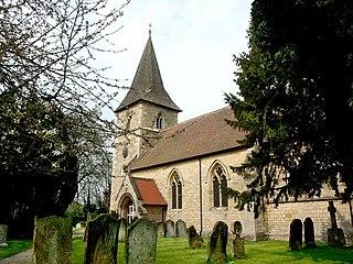 Faldingworth village in the United Kingdom