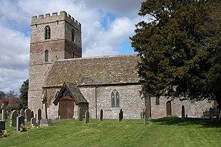 Clehonger village in United Kingdom