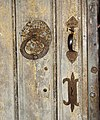 All Saints Church, Old Buckenham, Norfolk - C14 south door (detail) - geograph.org.uk - 1394278.jpg