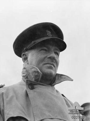 Allan Boase - Brigadier Allan Boase in Syria, January 1942