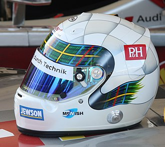 Allan McNish - McNish's helmet for 2013.