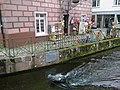Allemagne Foret Noire Freiburg Gewerbekanal Crocodile 27032013 - panoramio.jpg