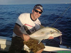 Almaco jack - An Almaco jack caught by a recreational fisherman