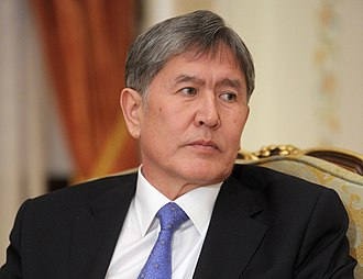 2011 Kyrgyz presidential election - Image: Almazbek Atambayev (cropped)