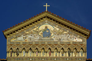 Amalfi Cathedral - Image: Amalfi Cathedral Mosaic