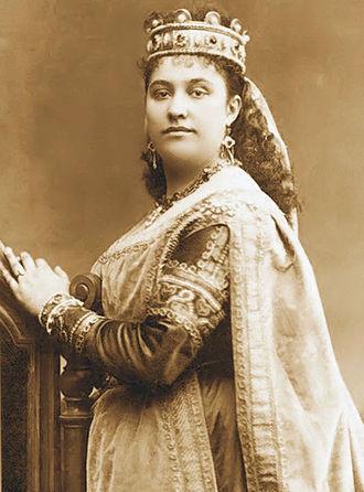 Amalie Materna - Elisabeth in Tannhäuser (Metropolitan Opera, 1885)