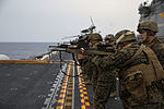 Amphibious roots, CLB-31 executes a live-fire exercise aboard ship 150204-M-WM612-110.jpg