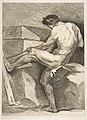 """An """"Académie""""- Man Pulling a Cord MET DP813987.jpg"""